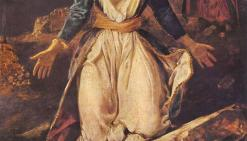 Η Ελλάδα εκπνέει στα ερείπια του Μεσολογγίου (πίνακας του Ευγένιου Ντελακρουά).