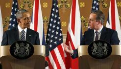 Μπάρακ Ομπάμα και Ντέιβιντ Κάμερον.