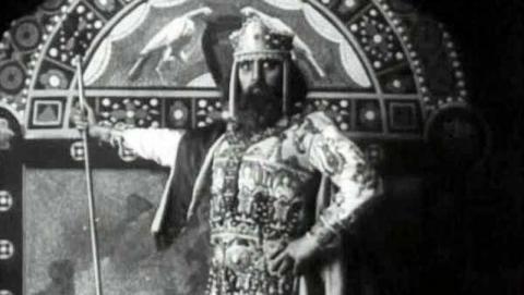 Ο Κωνσταντίνος Παλαιολόγος όπως εμφανίζεται στην «Αγωνία του Βυζαντίου».