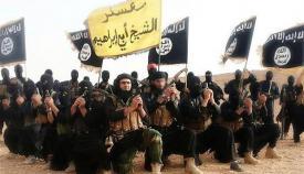 Ένοπλοι μαχητές του λεγόμενου «Ισλαμικού Κράτους».