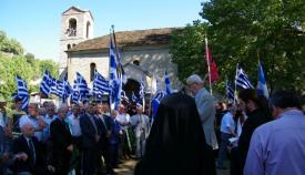 30.08.2015: Τον πανηγυρικό λόγο εκφώνησε ο υποστράτηγος ε.α. Σταύρος Νικόπουλος.