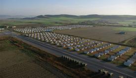 Καταυλισμός «προσφύγων» (hotspot) στο Κιλκίς.