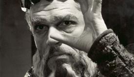 «Βασιλιάς Ληρ» σε σκηνοθεσία Πήτερ Μπρουκ.