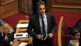 Ο νέος αρχηγός της ΝΔ Κυριάκος Μητσοτάκης.