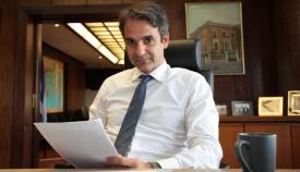 Ο Κυριάκος Μητσοτάκης, νέος Πρόεδρος της Νέας Δημοκρατίας.