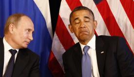Βλάντιμιρ Πούτιν και Μπάρακ Ομπάμα.