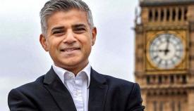 Ο μουσουλμάνος δήμαρχος του Λονδίνου Sadiq Khan.