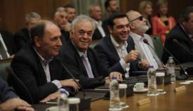 Συνεδρίαση του υπουργικού συμβουλίου της κυβέρνησης Τσίπρα.