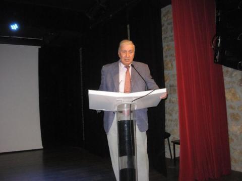 09.10.2016: Ο συντονιστής της εκδήλωσης Πολύδωρος Δάκογλου.