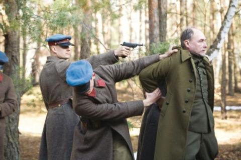 Η σκηνή της δολοφονίας του ανθού του Πολωνικού έθνους.