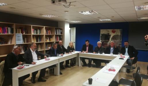 17.11.2018: Συνάντηση του Εθνικού Συντονιστικού Οργάνου με εκπροσώπους πατριωτικών κομμάτων στην Αθήνα.